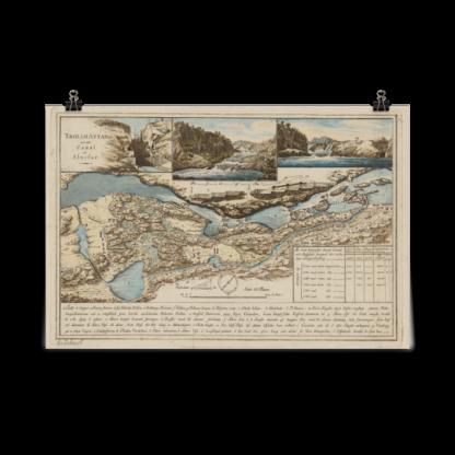 Swedish city Trollhattan 1800s