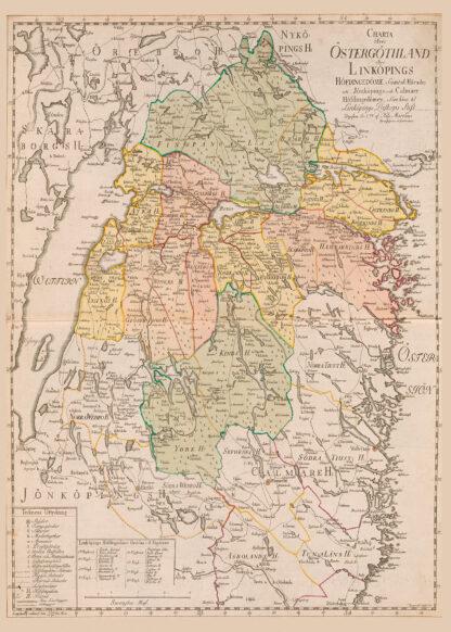 Swedish province Östergötland