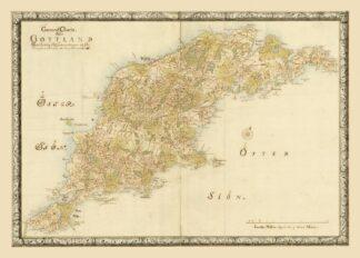Swedish province Gotland 1729