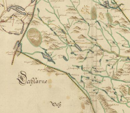 Harjedalen late 1600s