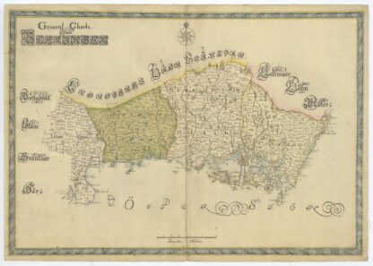 Blekinge late 1600s