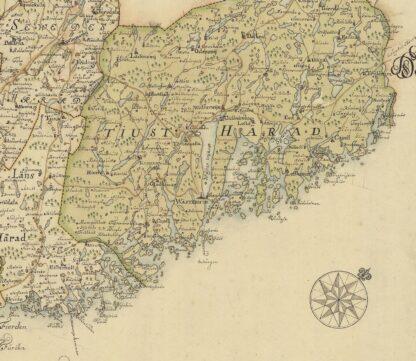 Kalmar county late 1600s