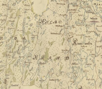 Kronoberg county late 1600s
