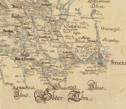 Lake Malaren 1717