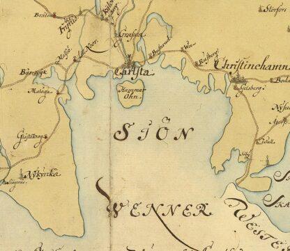 Narke and Varmland 1731