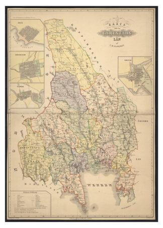 Karlstads county 1800s