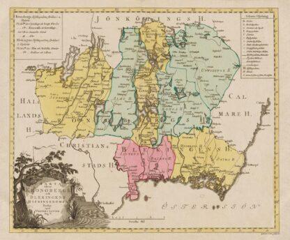 Kronoberg and Blekinge 1750